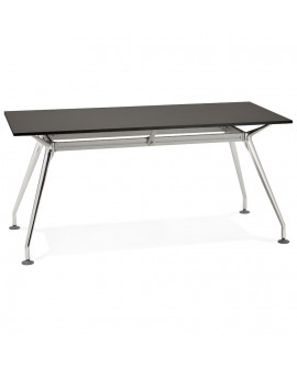 Bureau design KRUSH 160 BLACK 80x160x74,5 cm