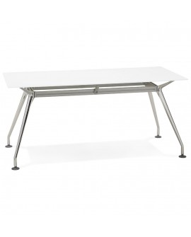 Bureau design KRUSH 160 WHITE 80x160x74 cm