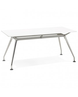 Bureau design KRUSH 160 WHITE 80x160x74,5 cm