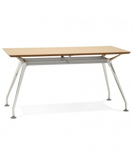 Bureau design KRUSH 150 NATURAL 70x150x75,3 cm