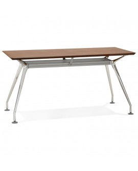 Bureau design KRUSH 150 WALNUT 70x150x75,3 cm