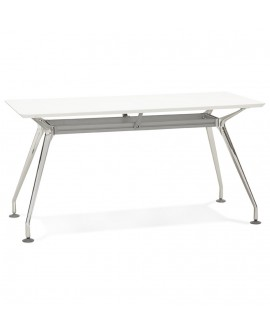 Bureau design KRUSH 150 WHITE 70x150x75,3 cm