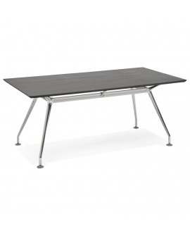 Bureau design KRUSH 180 BLACK 90x180x75,3 cm