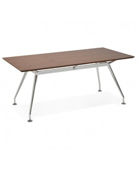 Bureau design KRUSH 180 WALNUT 90x180x75,3 cm