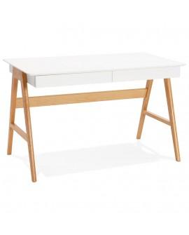 Bureau design TRETO WHITE 70x120x75 cm