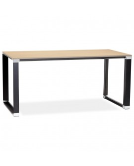 Bureau design WARNER NATURAL 80x160x74 cm