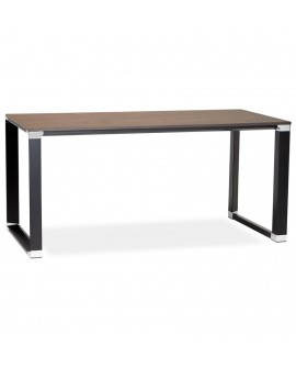 Bureau design WARNER WALNUT 80x160x74 cm