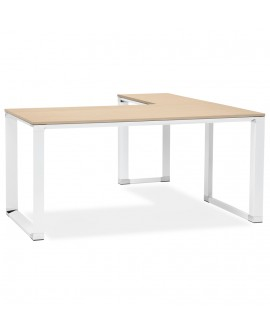 Bureau design WARNER NATURAL 160x170x74 cm