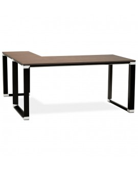 Bureau design WARNER WALNUT 160x170x74 cm