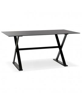 Bureau design MAUD BLACK 80x160x75 cm