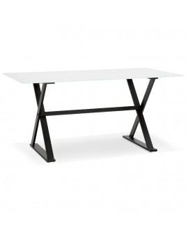 Bureau design MAUD WHITE 80x160x75 cm