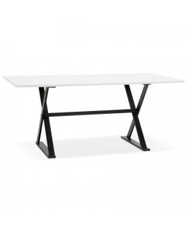 Bureau design MAUD WHITE 90x180x76,5 cm