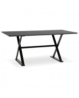 Bureau design MAUD BLACK 90x180x76,5 cm
