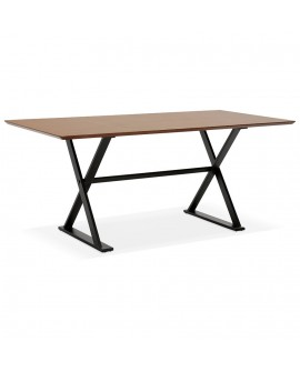 Bureau design MAUD WALNUT 90x180x76,5 cm