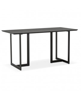 Bureau design DORR BLACK 70x150x76,5 cm