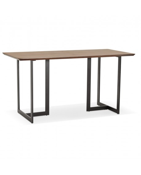 Bureau design DORR WALNUT 70x150x76,5 cm