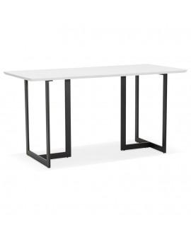 Bureau design DORR WHITE 70x150x76,5 cm