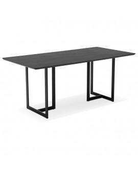 Bureau design DORR BLACK 90x180x76,5 cm
