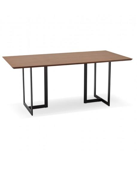 Bureau design DORR WALNUT 90x180x76,5 cm