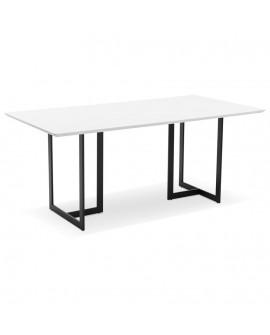 Bureau design DORR WHITE 90x180x76,5 cm