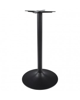 pied de table sans plateau 110cm  BLACK 60x60x110 cm