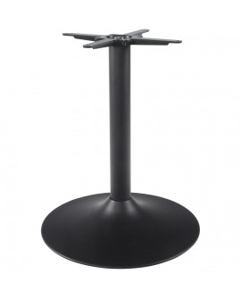 pied de table sans plateau 75cm  BLACK 60x60x75 cm