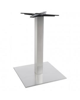 pied de table sans plateau 75cm  STAINLESS STEEL 50x50x73 cm
