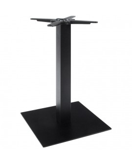 pied de table sans plateau 75cm BLACK 50x50x73 cm