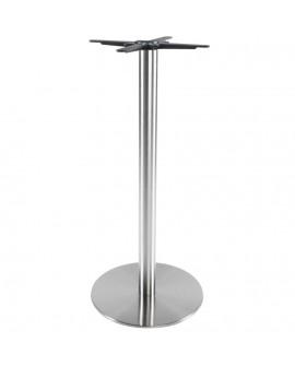 pied de table sans plateau 110cm STAINLESS STEEL 50x50x110 cm