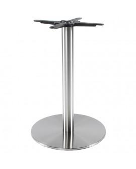 pied de table sans plateau 75cm STAINLESS STEEL 50x50x75 cm