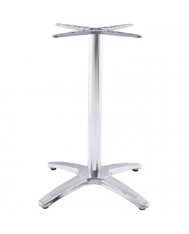 pied de table sans plateau 75cm CHROME 47x47x73 cm
