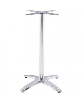 pied de table (sans plateau) 110 cm  CHROME 47x47x110 cm