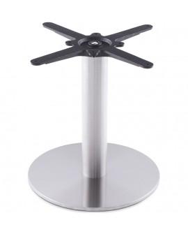 pied de table (sans plateau) 45 cm STAINLESS STEEL 40x40x44 cm