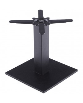 pied de table (sans plateau)  45 cm  BLACK 39x39x44 cm
