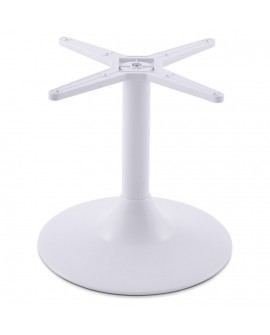 pied de table (sans plateau) 45 cm WHITE 43x43x44 cm