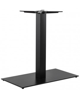 Pied de table (sans plateau) 75cm BLACK 40x75x75 cm