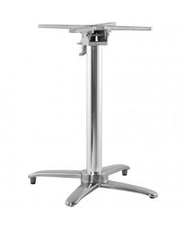 Pied de table (sans plateau) 75cm ALU 62x62x74 cm