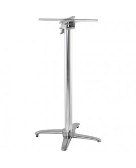 Pied de table (sans plateau) 110cm ALU 62x62x110 cm