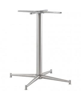 Pied de table (sans plateau) 75cm  STAINLESS STEEL 70x70x75 cm