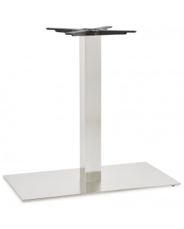 Pied de table sans plateau 75cm STAINLESS STEEL 40x75x75 cm