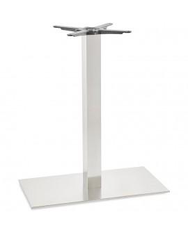 Pied de table sans plateau 90cm STAINLESS STEEL 40x75x90 cm