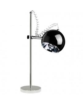 lampe de table MOON BLACK 18x30x69 cm