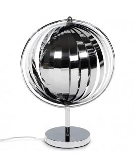 lampe de table NINA SMALL CHROME CHROME 30x32x43 cm