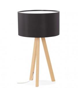 Lampe de table TRIVET BLACK 36x36x64 cm