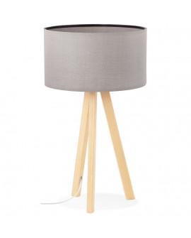 Lampe de table TRIVET GREY 36x36x64 cm