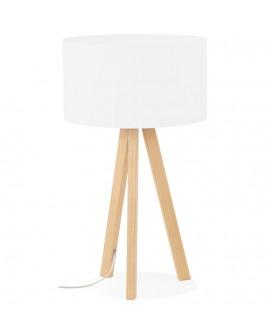 Lampe de table TRIVET WHITE 36x36x64 cm