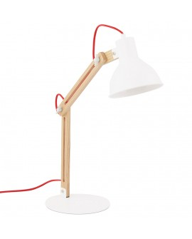 Lampe de table BOT WHITE 20x22,5x75 cm