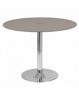 Table de repas taupe - L:110 l:110 h:75 - BAAKAL AND ROSS
