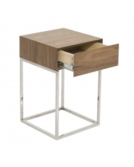 Table de chevet bois - L:40 l:40 h:54 - BAAKAL AND ROSS
