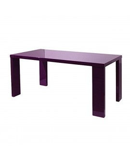 Table de repas prune - L:160 l:80 h:74 - BAAKAL AND ROSS
